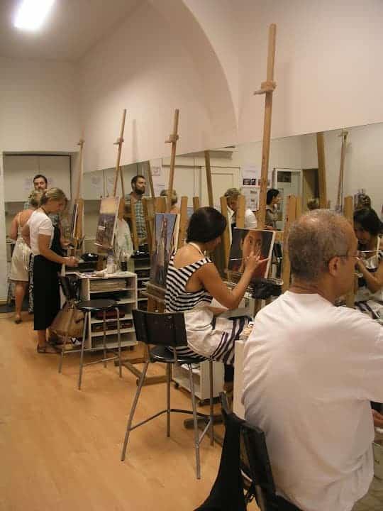 D V Madrid Academia Pintura  leo  Acuarela  Dibujo