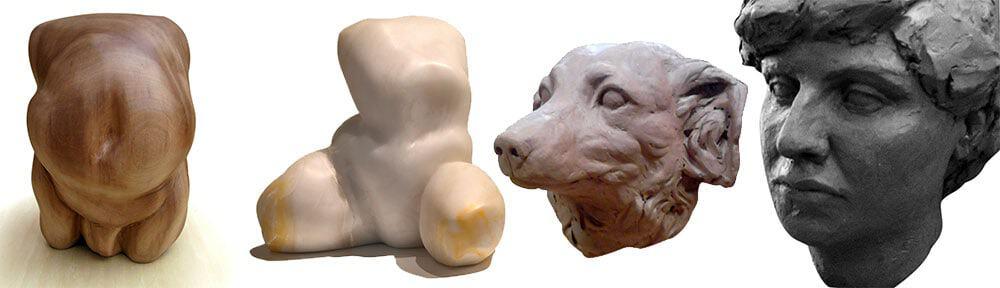 Escultura: Modelado Creativo y Reproducción